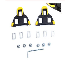 Set Of Self-Locking Pedal Clips Road Bicycle Cleats Cycling