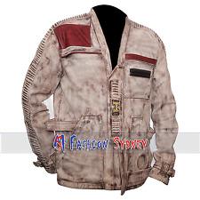 Star Wars The Force Awakens Finn Wax Leather Jacket