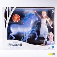 Disney Frozen 2 II Elsa Doll And Nokk Spirit Horse Playset - Box Damaged NEW