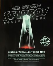 Starboy The Weeknd World Tour Concert 24x30!Poster The Legend Of The Fall 2017