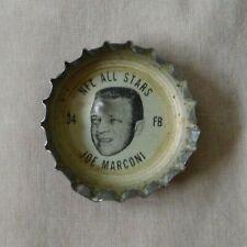 1960's Coca-Cola NFL Bottle Caps All Stars Joe Marconi Rams Bears