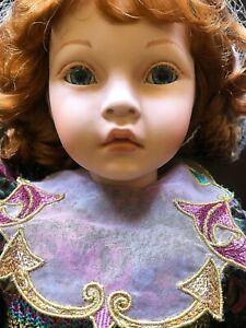 CATALINA Porcelain Doll by Pauline Bjonness-Jacobsen
