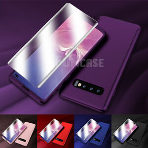 For Samsung Galaxy Note 9 S9 S10 Plus SHOCKPROOF SLIM 360 Case+Screen Protector