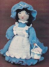 OLD-FASHIONED Sarah Doll/Toy/Crochet Pattern INSTRUCTIONS ONLY