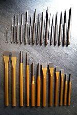 28 tlg. Meissel Körner Splintentreiber Durchschläger Set CrV Meißel Durchtreiber