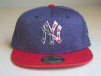 New York Yankees Fractured Metal Emblem 4th of July Edition New Era 59FIFTY NEW