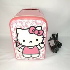 Hello Kitty Personal Portable Mini Fridge w/Carry Handle - Cooler/Warmer