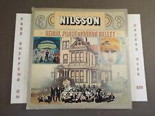 "HARRY NILSSON AERIAL PANDEMONIUM BALLET LP ""EVERYBODY'S TALKIN"" MIDNIGHT COWBOY"