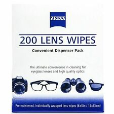 202 x Zeiss Lens Cleaning Wipe Camera Glasses Optical iPad iPhone Mobile MELB