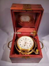chronometer ship clock USSR Knot of balance Chronometer