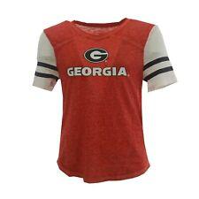 Creative Apparel Junior Women/'s NCAA Georgia Bulldogs T-Shirt Tee