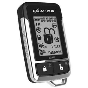 EXCALIBUR - 1510-03E 433MHZ 2-WAY LCD REMOTE
