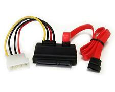SATA Combo Data Cable to 4 Pin IDE Molex & Serial ATA Power Lead Adapter forHDD