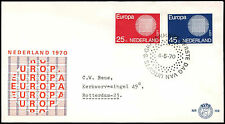Netherlands 1970 Europa FDC First Day Cover #C27436