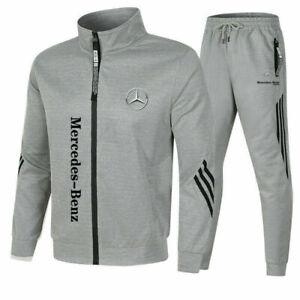Neu Mercedes-Benz Herren Sportswear Anzug Oberteile Hose Unterteil ohne Mützecfd