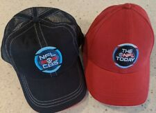 TWO NFL/CBS Baseball Caps, Adjustable, New, Free Shipping!