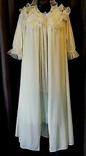 Vtg Vanity Fair Rogers 2pc Wedding Lingerie Nightgown Boudoir Photography Xs-M