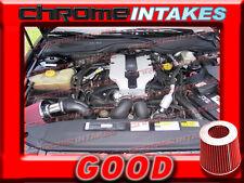 RED 97 98 99 00 01 CADILLAC CATERA BASE/SPORT 3.0 3.0L V6 AIR INTAKE KIT