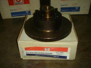 Disc Brake Rotor + Hub Assembly NEW Dodge & Chrysler Front Disc Bendix 141145