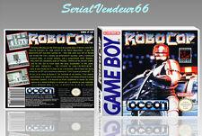 """BOITIER du jeu """"ROBOCOP"""", GAME BOY. Nintendo. PAL FR. HD. SANS LE JEU."""
