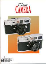 Classic Camera  N.60 Novembre 2006 rivista in italiano collezionismo fotografico