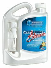 Shower Cleaner,64 oz.,Vanilla,Clear WET AND FORGET 801064