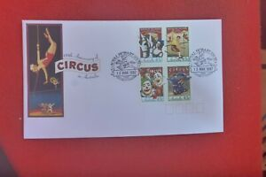CIRCUS  OF AUST FDC  1997 FDC ROYAL HOBART SHOW MERRY GO ROUND I PICTORIAL  PMK