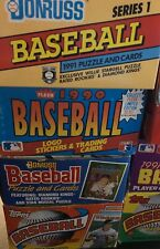Huge Lot of 100 or more Unopened Vintage Baseball Cards From The 80s and 90s!!!!