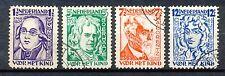 Nederland  220 - 223 gebruikt (1)