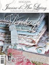 Jeanne d`Arc Living WOHNMAGAZIN  Januar/ 2016 Brocante Fransk Vintage Cottage