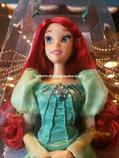 Disney Parks Diamond Collection Ariel Little Mermaid LE Doll 30th Anniversary!