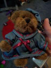 "Nwt Russ Berrie Vintage Edition 6"" Bear Coa ""Penelope"""