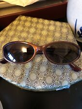 Kenneth Cole Reaction Women's Brown Oval Frame Sunglasses KCR5812