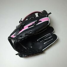 "Easton Youth Black Pink T Ball Mitt Baseball Glove 9.5"" Pattern GKP9500"