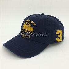Vintage Polo RL CLUB NEW YORK N Y 1967 Hombre Gorra Béisbol Azul Marino con /