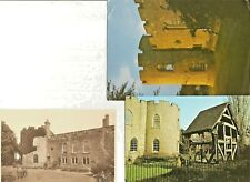Qty 3 x POSTCARDS OF TAUNTON CASTLE