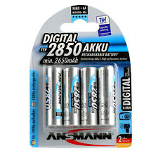 4x ANSMANN Digital NiMH Akku Mignon AA Typ 2850 mAh 1,2 V HR6