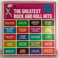 Dynamic House Inc Presents The Greatest Rock And Roll Hits 4 Record Lp BoxSet NM