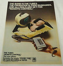 1979 Music trade ad page ~ The Tubes Remote Control, Prime Time