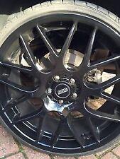 x4 40mm-90mm BBS Custom Wheel Centre Cap Logo Car Sticker Decal VW R SEAT ST VXR