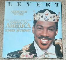"""COMING TO AMERICA SOUNDTRACK VINYL 12"""" - LEVERT - ADDICTED TO YOU - NEW SEALED"""