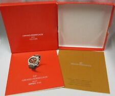 Girard-Perregaux GP Ferrari F40 Chronograph Watch Certificate+Folding Clasp Info