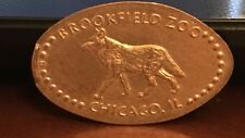 Brookfield Zoo Wolf Pressed Elongated Penny