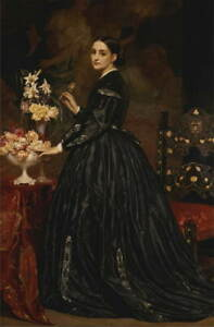 Frederick Leighton Mrs. James Guthrie Poster Reproduction Giclee Canvas Print