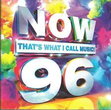 New Listing2017 Pop R&B Cd: Various Artists - Now That'S What I Call Music! 96 (Uk 2Cds) 43