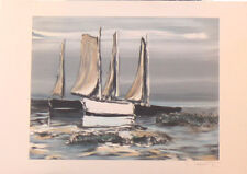 LAPORTE   GEORGES    LITHOGRAPHIE