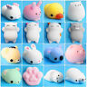 Cute Mochi Squishy Cat Squeeze Healing Fun Kawaii Kids Toy Stress Reliever Decor