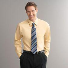 NEW Arrow Classic Fit Sateen No Iron Point-Collar Dress Shirt size 15 32/33