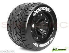 "Louise RC 1/8 3.8"" MT Rocket Tire/wheels 1/2 offset 2 pcs L-T3217BH"
