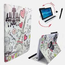 "Hülle Tasche für Samsung Galaxy Tab 2 P5100 Tablet Cover Etui 360° Paris 4 10.1"""